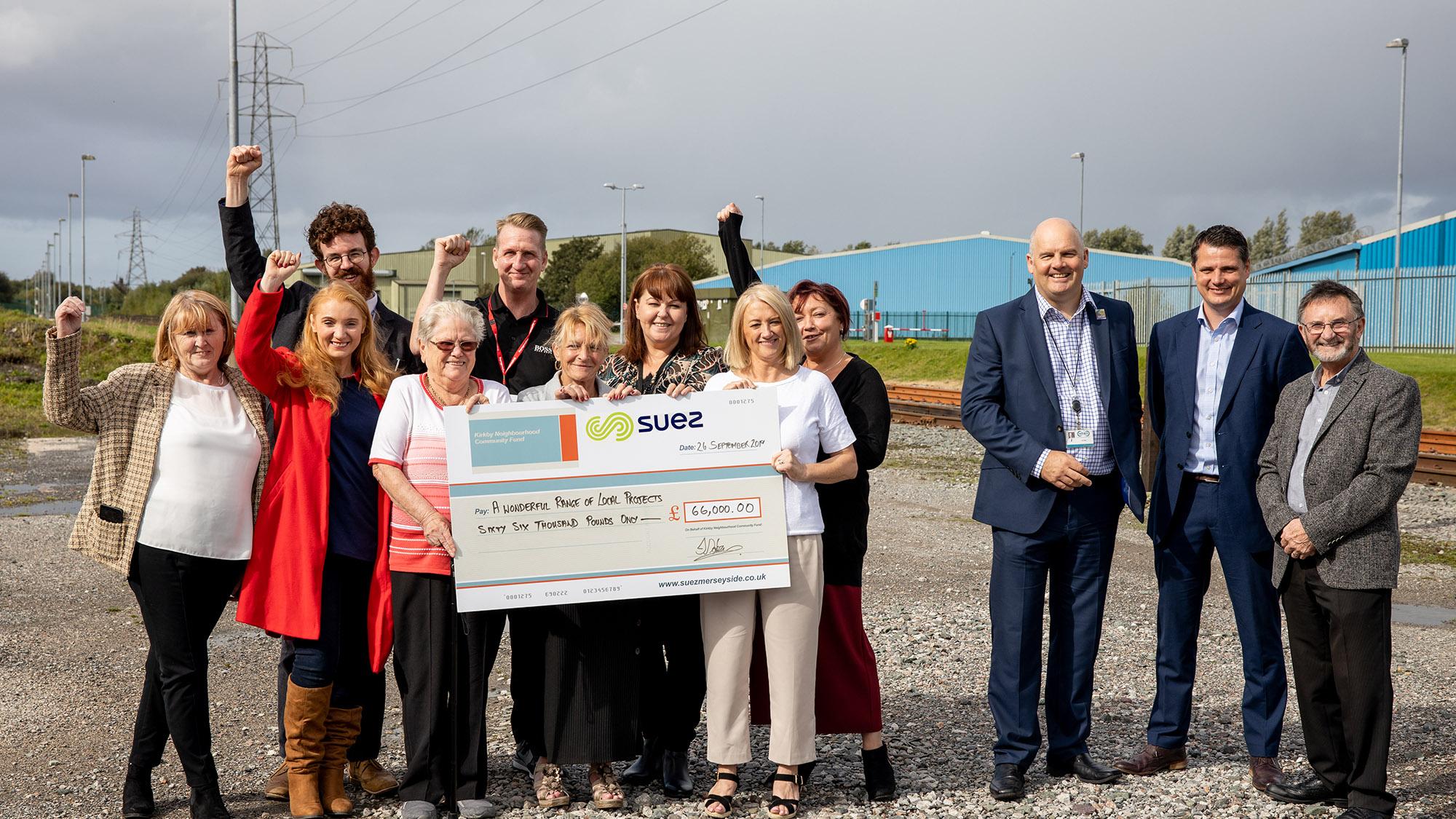 Kirkby fund 2019 rewards UK CW