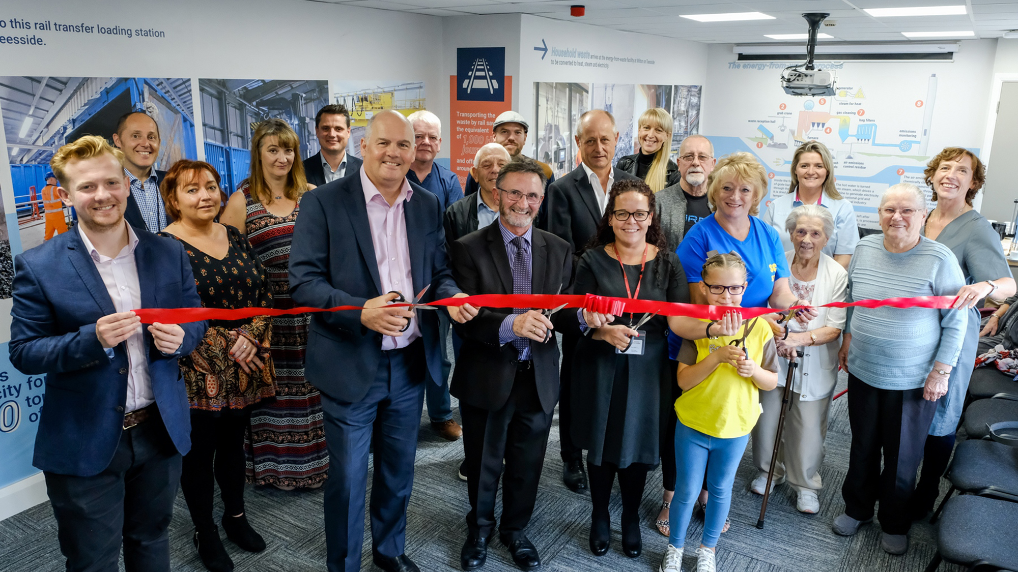 Kirkby fund and visitor centre opening
