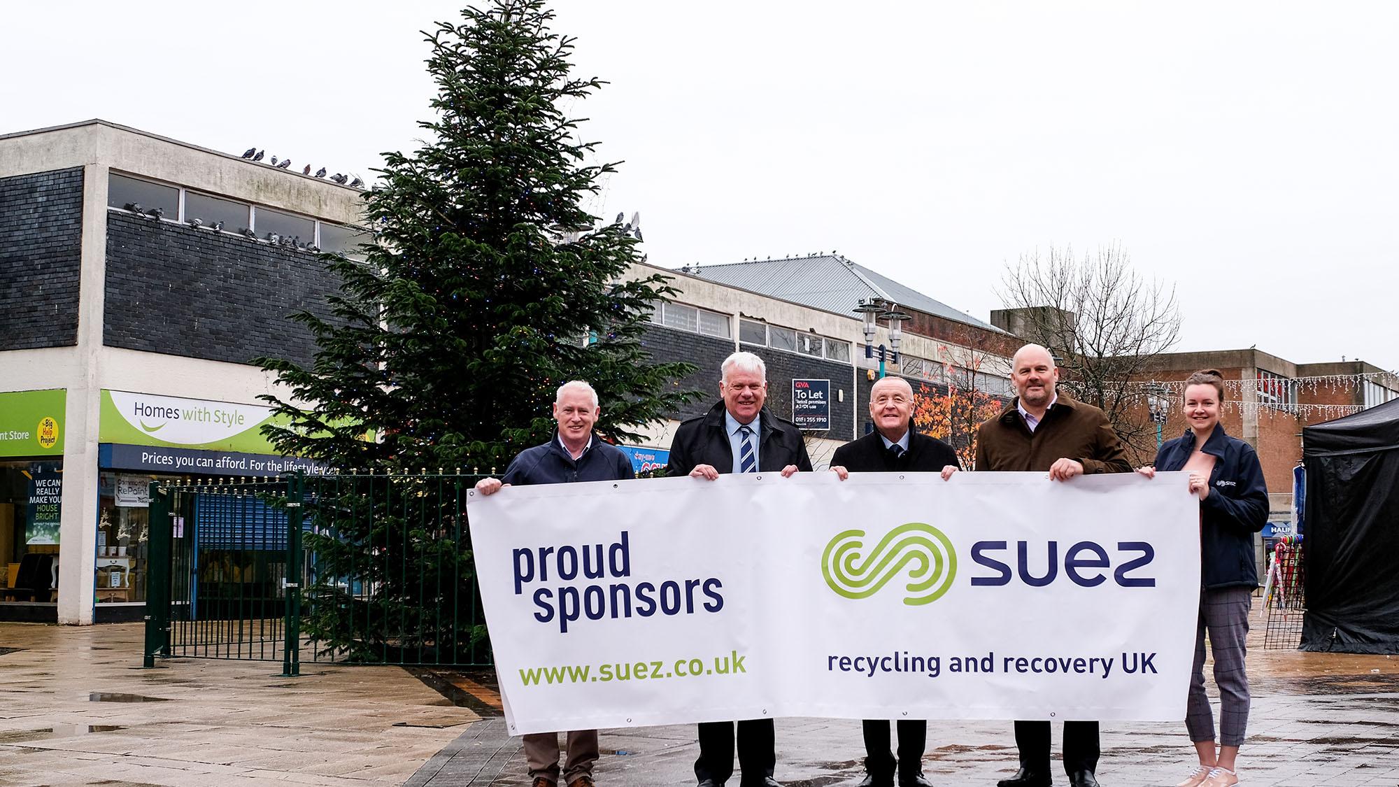 Proud sponsors of Merseyside Christmas tree