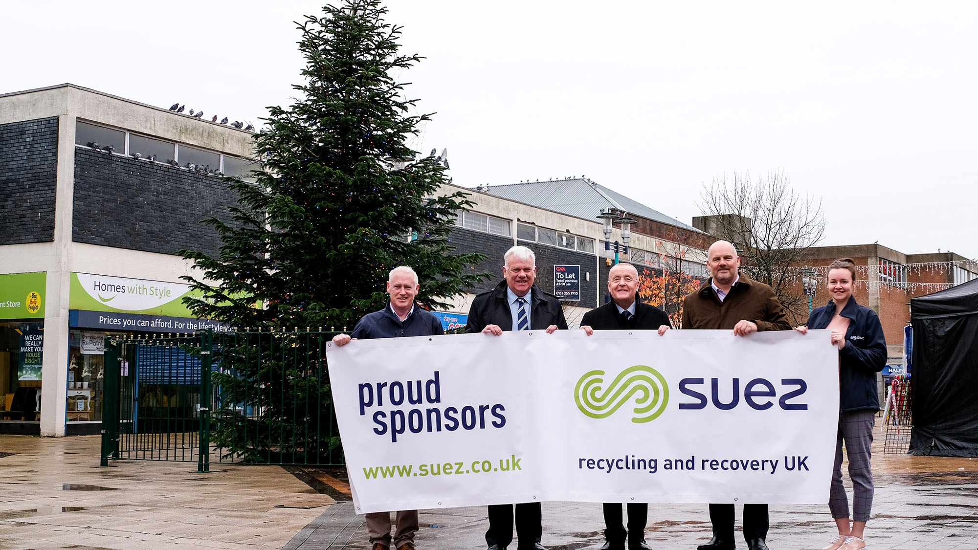 Proud sponsors of Merseyside Christmas tree
