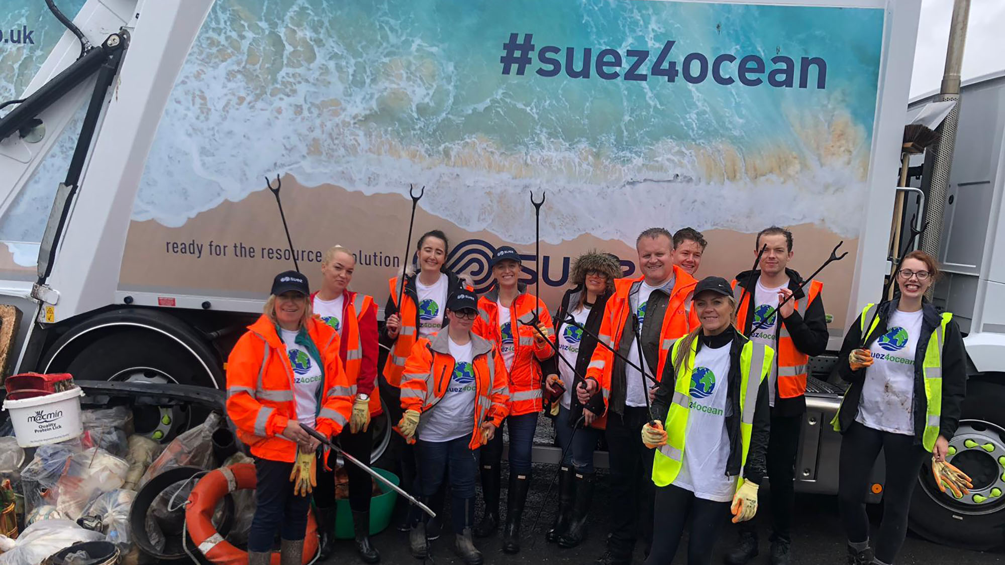 Ribble Estuary beach clean
