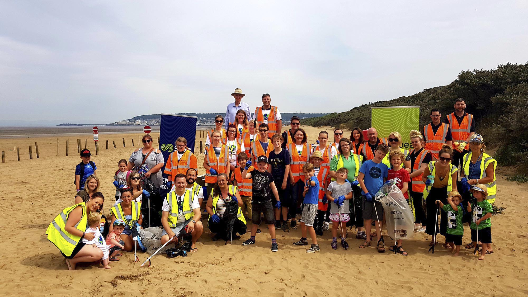 #SUEZ4Ocean beach clean up July 2018