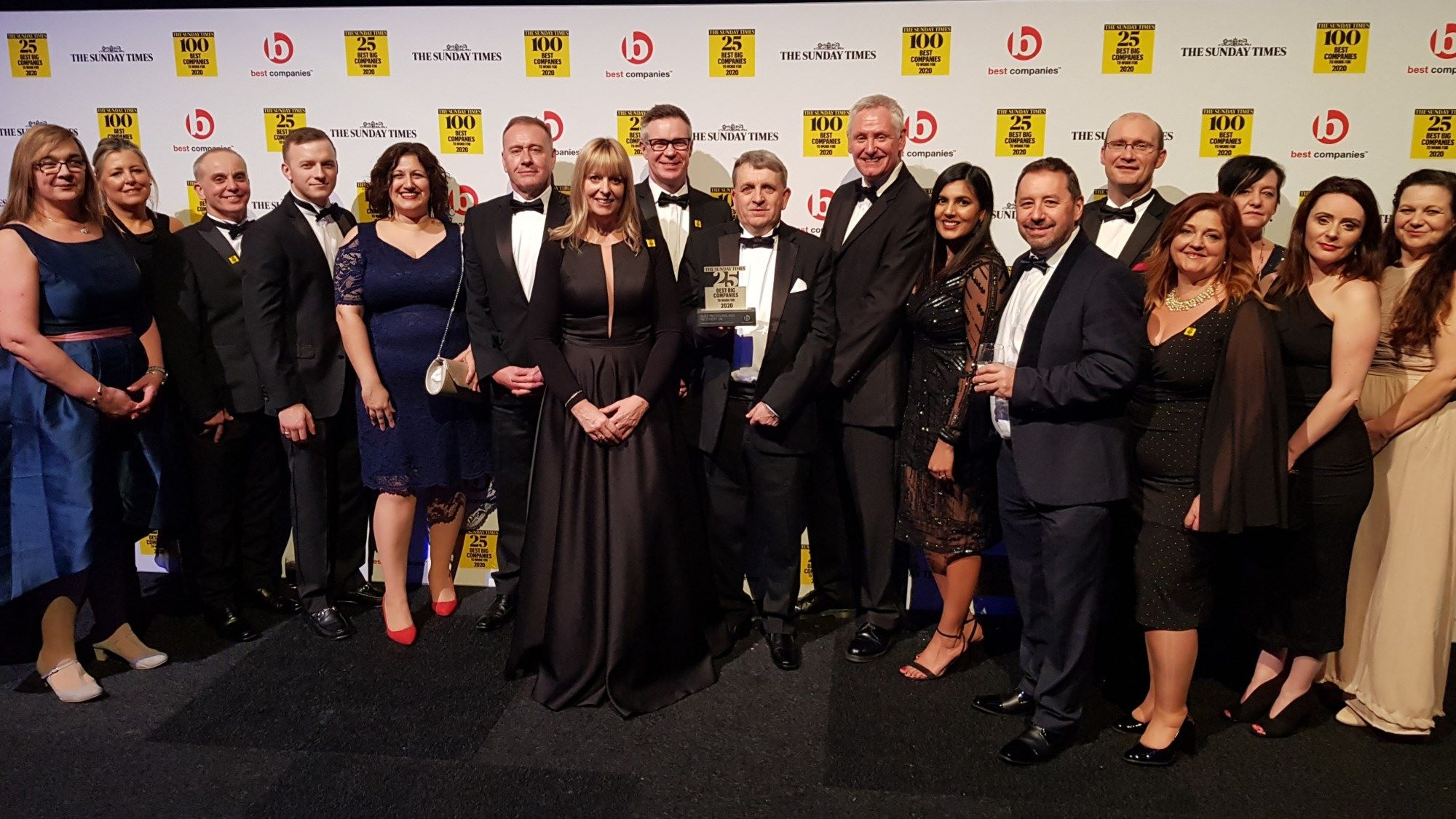 The Sunday Times 25 Best companies group 2020