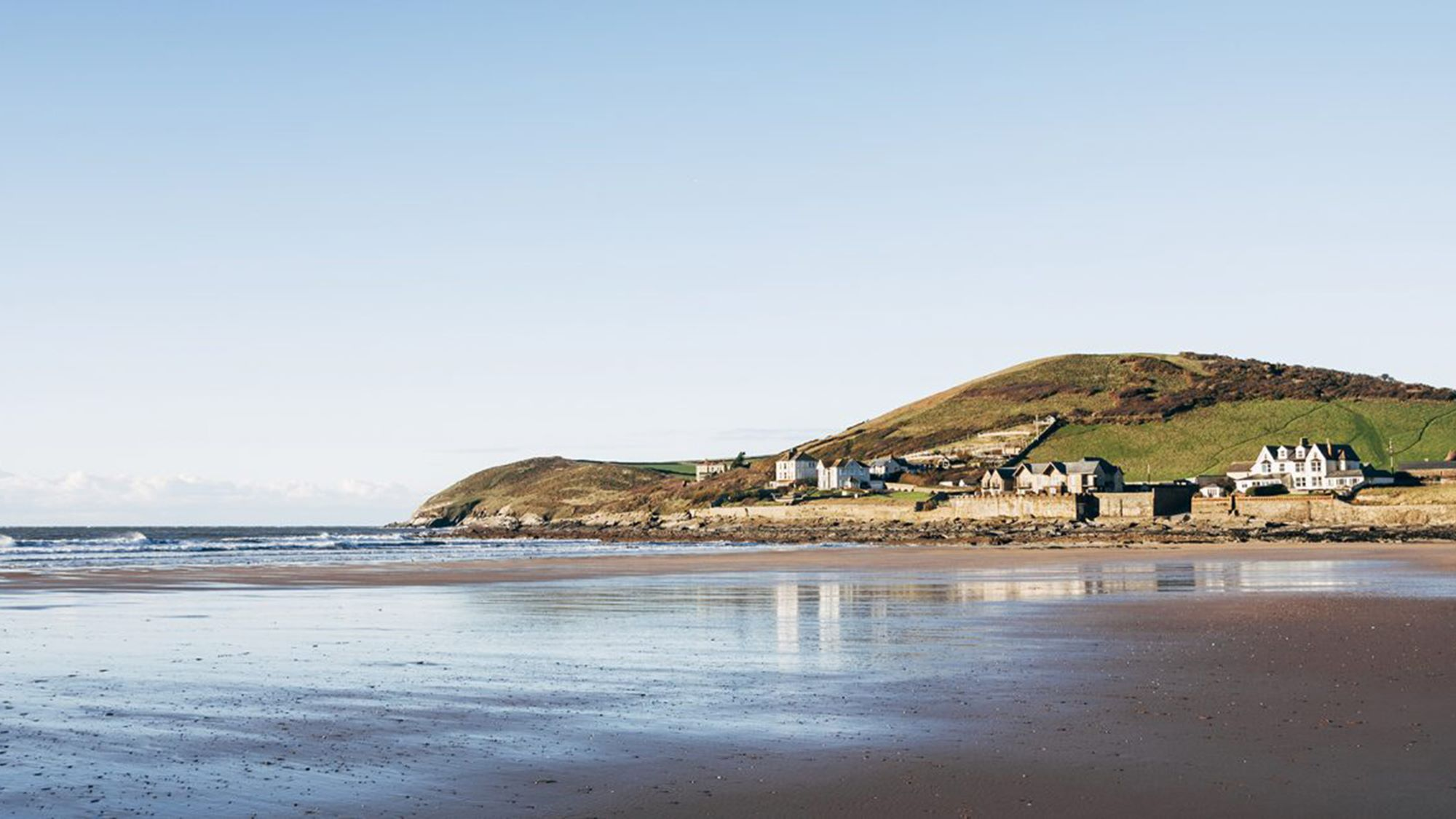 Croyde beach on the coast of North Devon