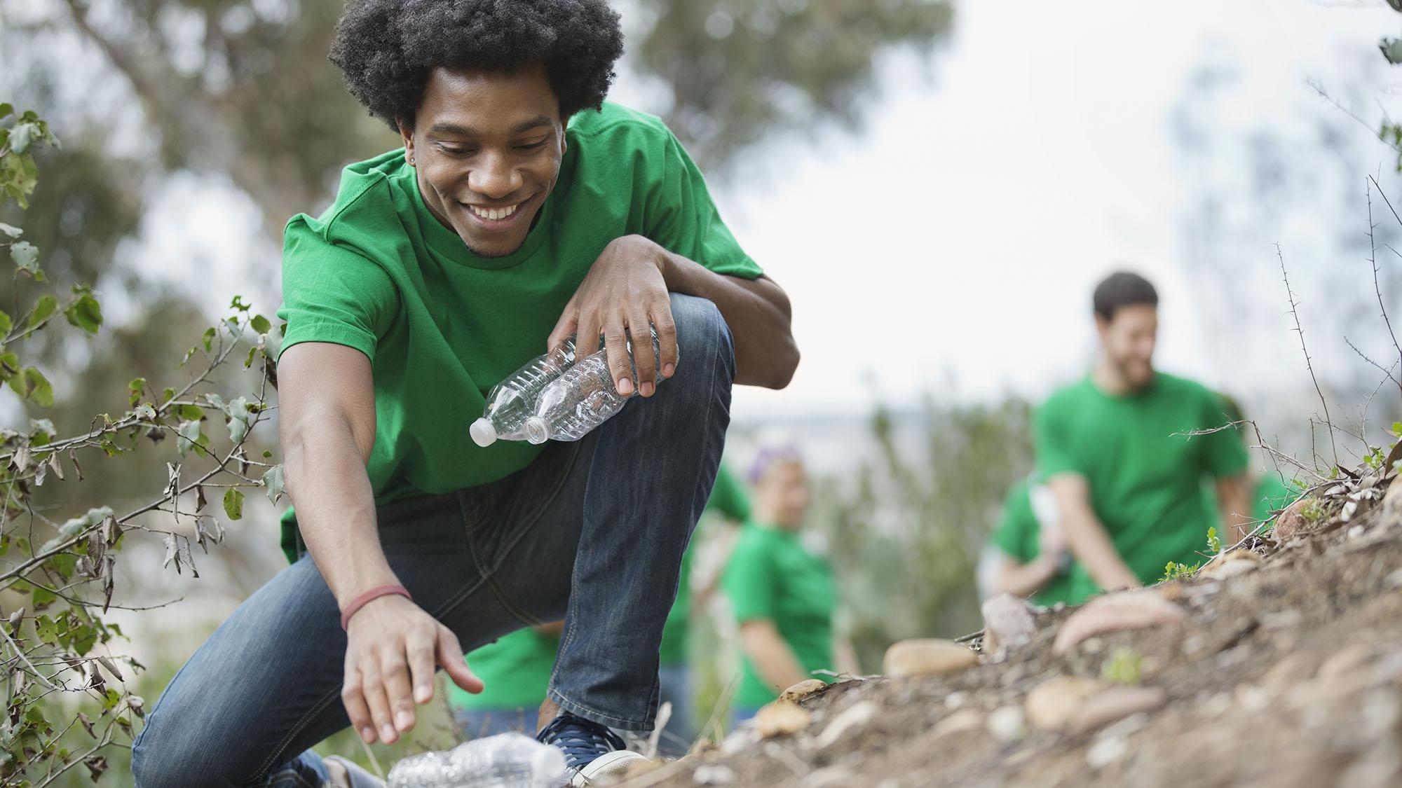 Recycling volunteers