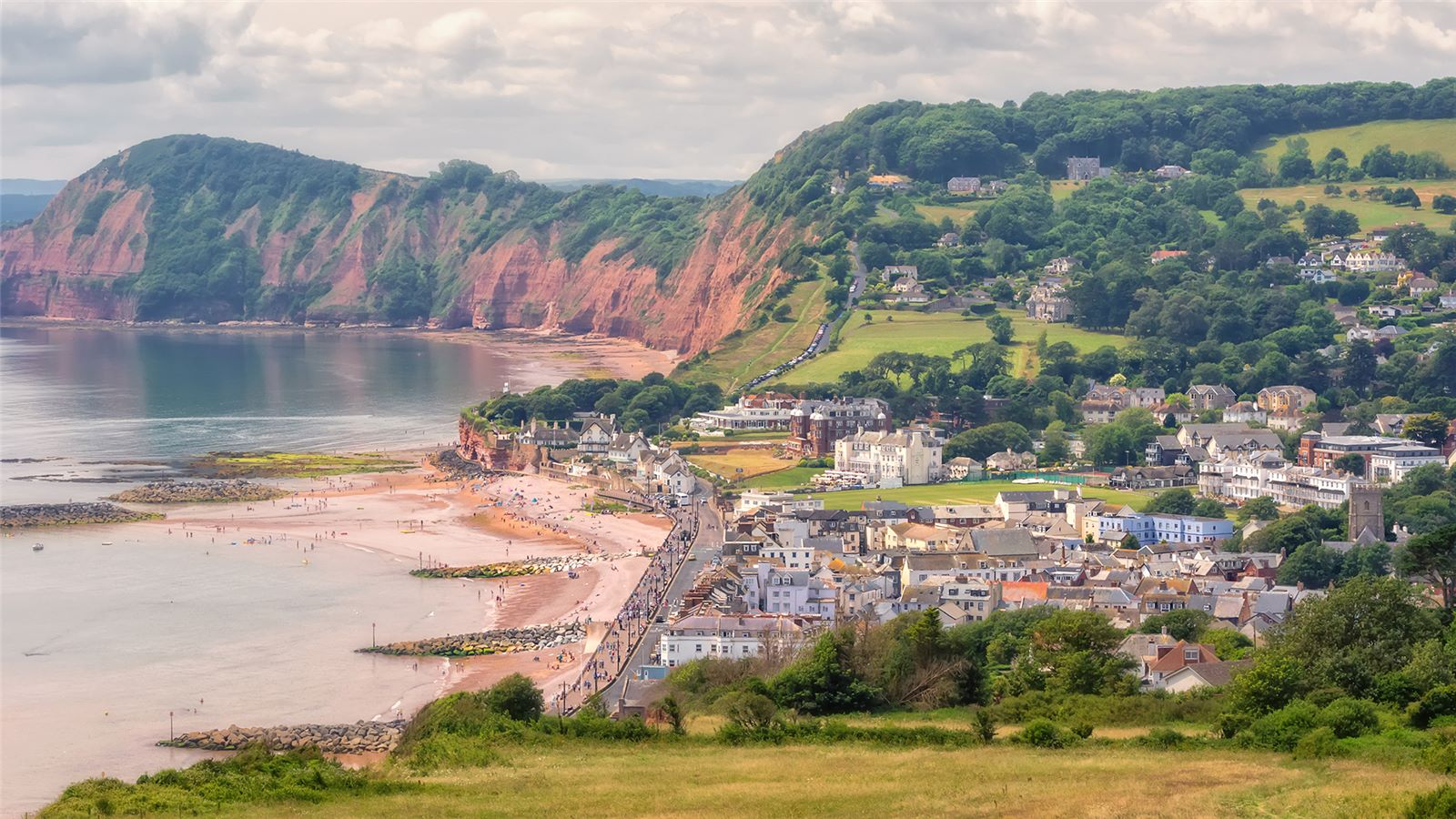 Sidmouth in East Devon