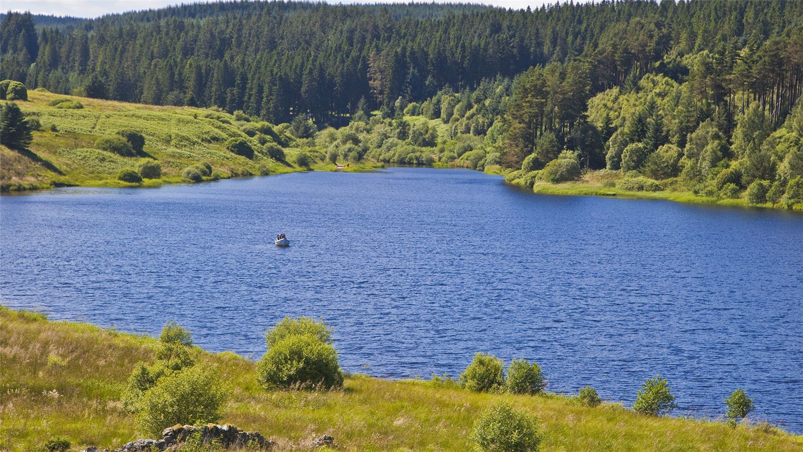 Kielder water resevoir in Northumberland