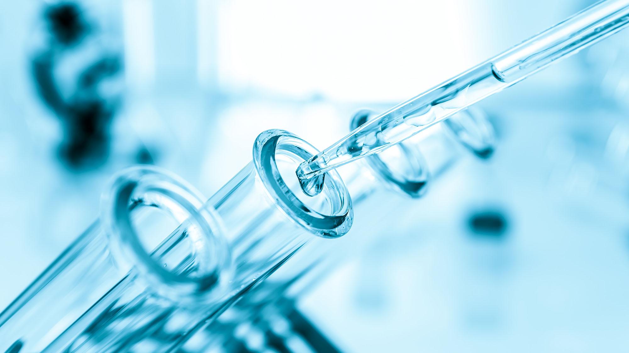 Lab test tube