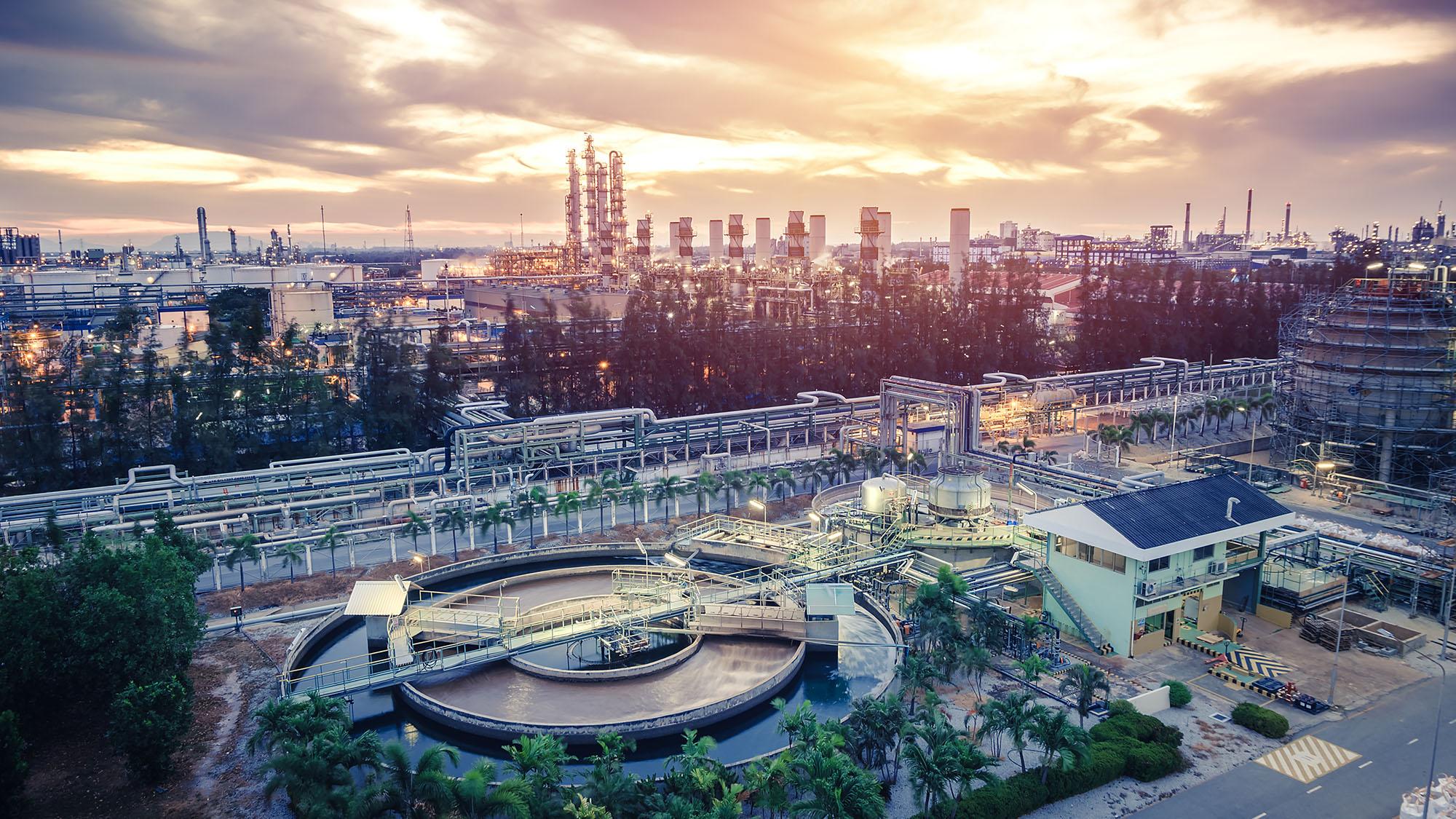 Petrochemical industrial estate