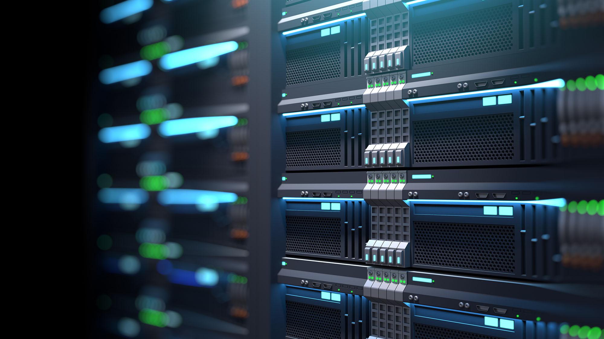 Super computer server racks