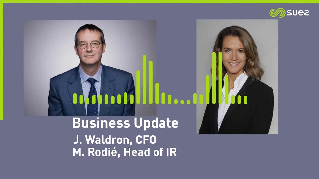 SUEZ Podcast - Business update: comments on exit and rebound