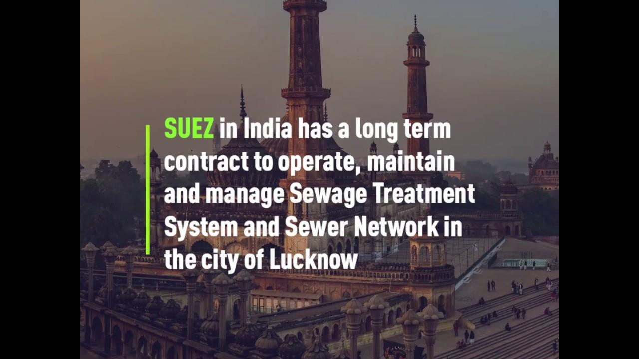 SUEZ team in Lucknow providing Essential Services during COVID-19