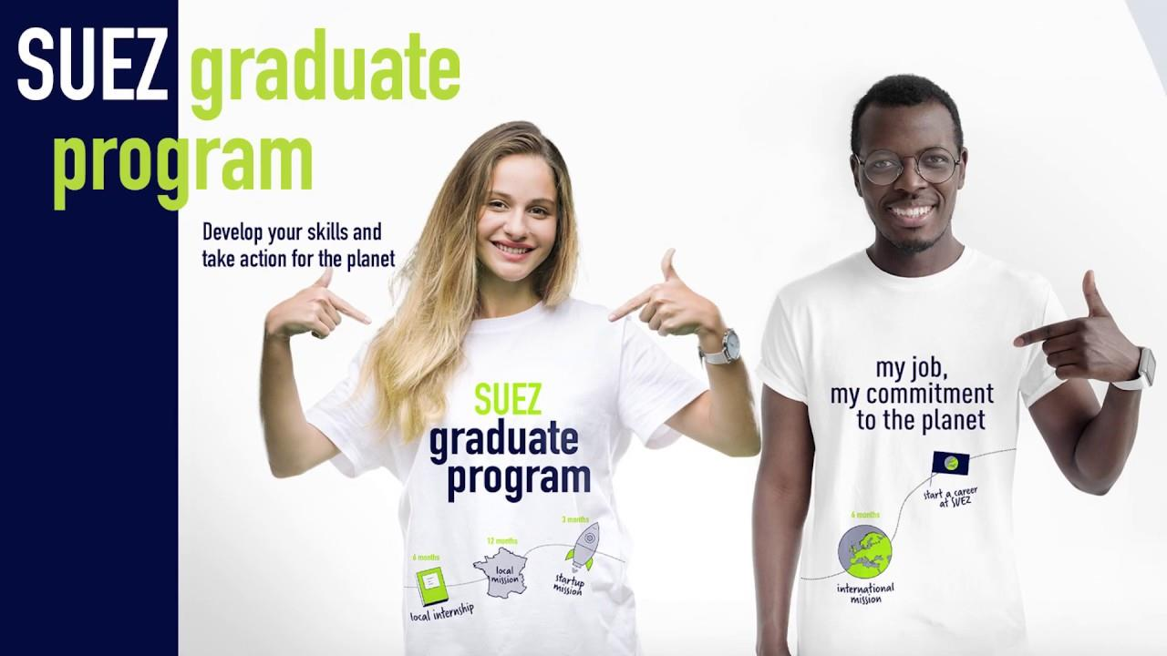 SUEZ Graduate program: join our program of excellence for young talent