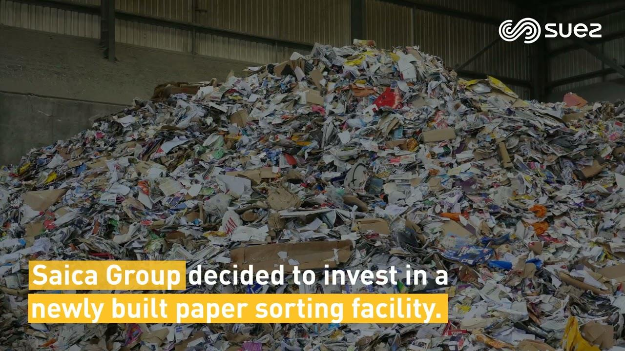 Pulp & Paper – Local and sustainable management of 100 000 tonnes per year of paper & board – SUEZ