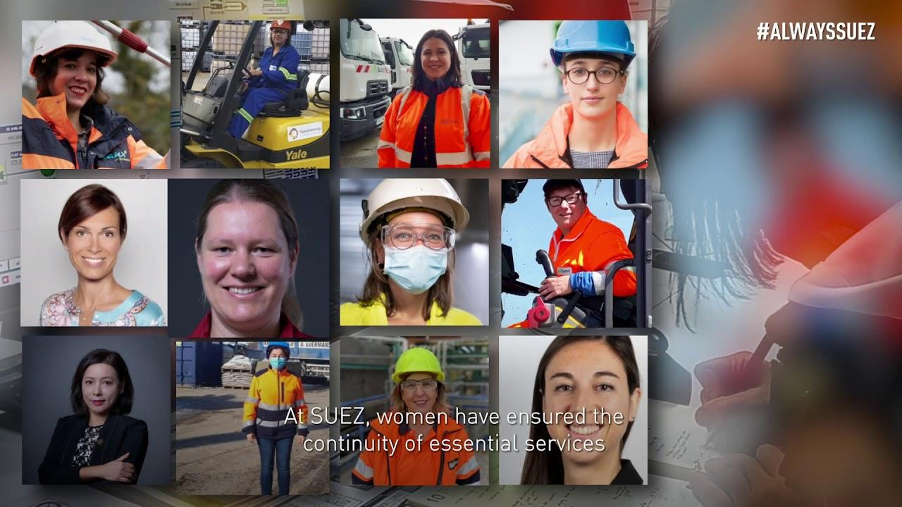 Lead'Her : SUEZ pays tribute to all women for taking up 2020 challenges